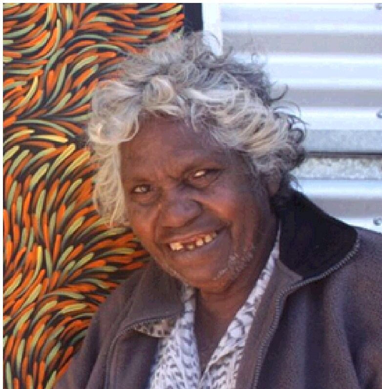 Gloria Petyarre arguably the most famous & significant