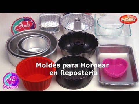 Moldes Para Hornear En Reposteria Tipos De Moldes Para Tortas O Pasteles Moldes Para Hornear Moldes Reposteria Materiales De Reposteria