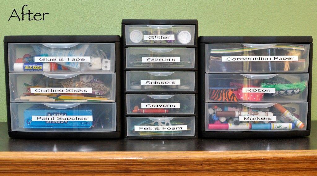 Beautiful How To Organize Kids Craft Supplies « Rockin Mama™Rockin Mama™ Put In  Expedit