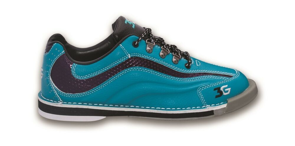 4f7e51a651d1 Lady 3G 900 Global Sport Ultra Teal Bowling Shoes Soles and Heels Size 6-11