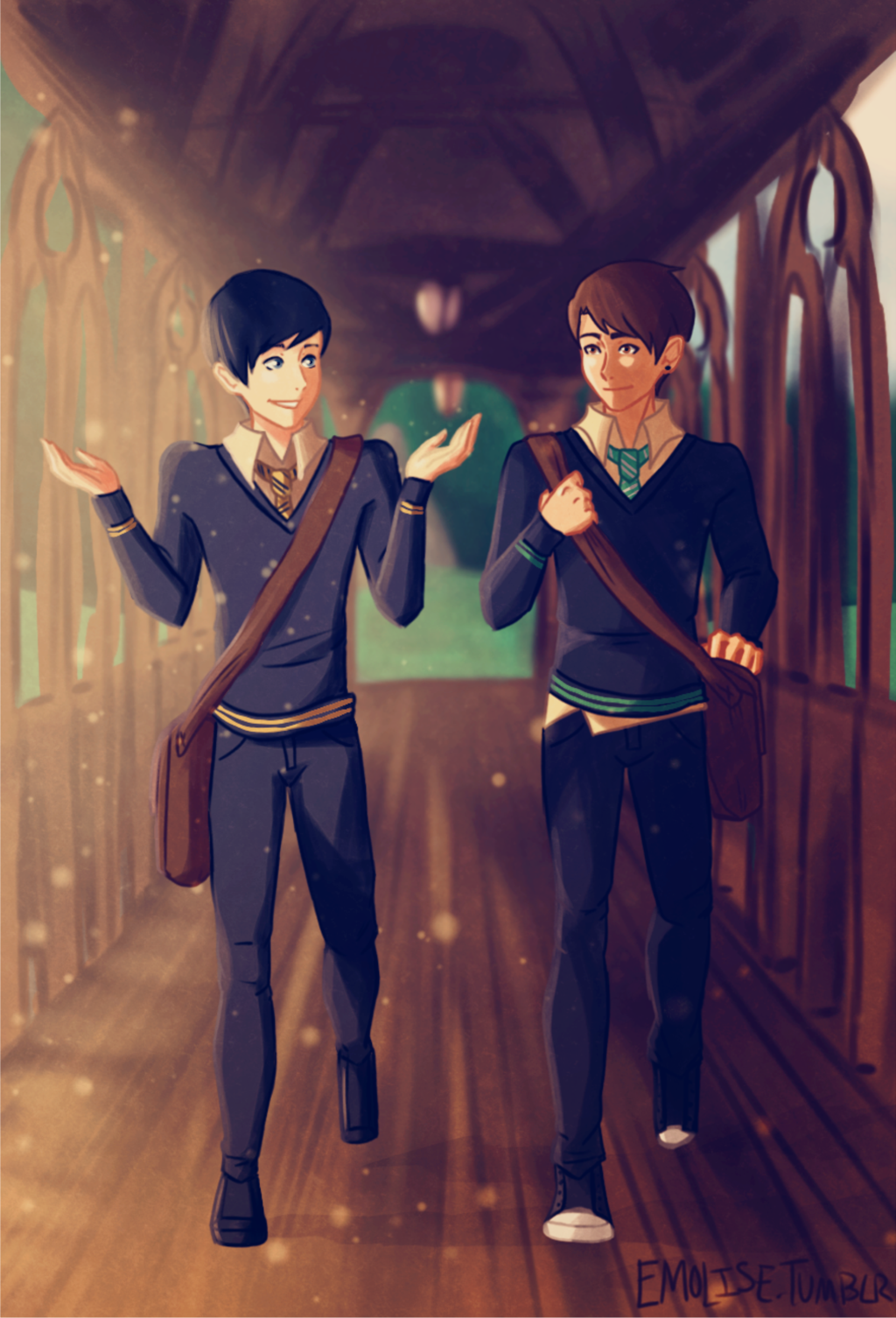 Image Result For Dan And Phil Harry Potter Au Dan And Phil Fanart Dan And Phil Dan And Phill
