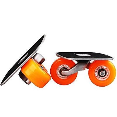 JINCAO Orange Portable Roller Road Drift Skates Plate Anti-slip Board Aluminum