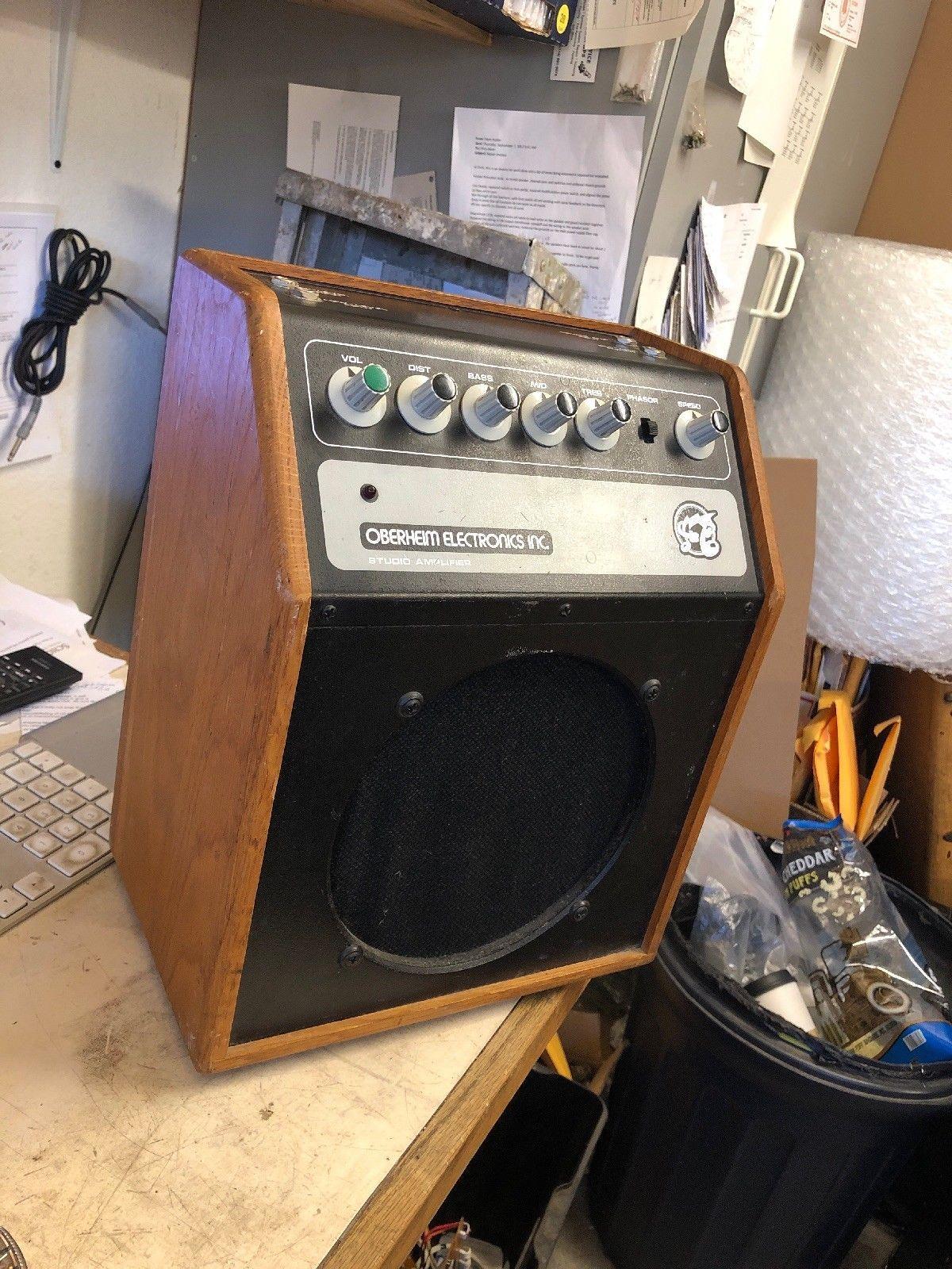 Vintage 1970s Oberheim Studio Amplifier w/ Phasor for