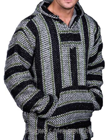 mexicna threads baja hoodie drug rug | Crochet | Baja hoodie