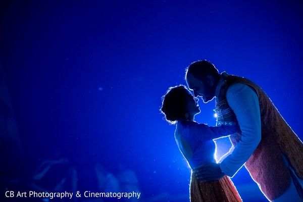 Indian couple during welcome dinner http://www.maharaniweddings.com/gallery/photo/86411