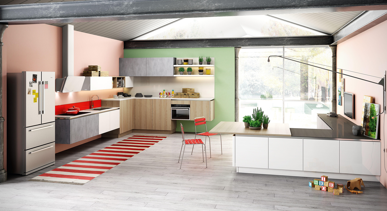 Berloni Cucina B-50 | Live your Kitchen | Pinterest | Cucine e Cucina