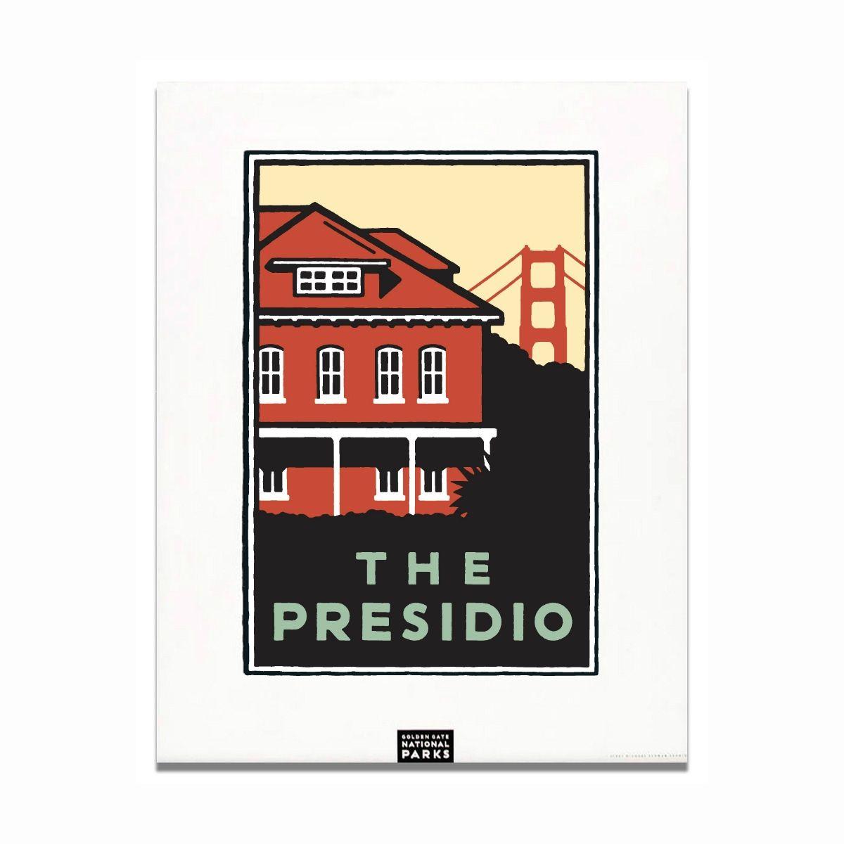 Unframed Poster The Presidio Poster, San francisco