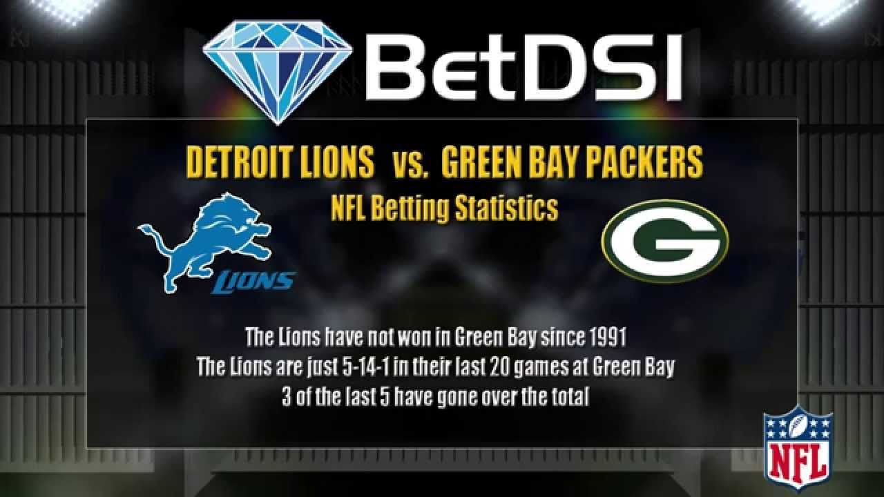 Detroit Lions Vs Green Bay Packers Odds Free Nfl Football Picks Nfl Football Picks Nfl Betting Nfl Detroit Lions