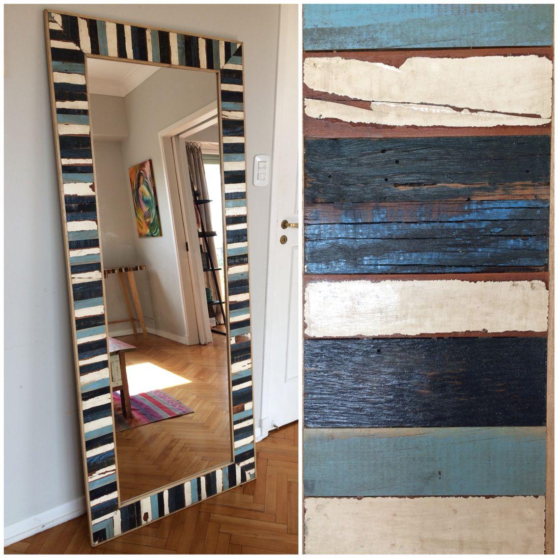 Espejo con colores