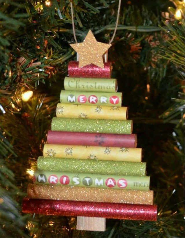 Manualidades rbol de navidad curiosidades creativas - Manualidades navidad arbol ...