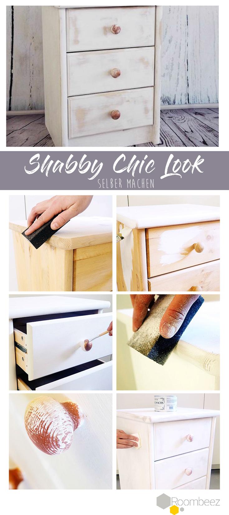 Shabby Chic & Vintage Möbel selber machen » Anleitung Schritt für ...