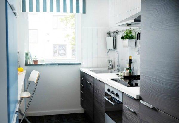 Aménagement malin d\'une petite cuisine fermée… | My new Kitchen ...