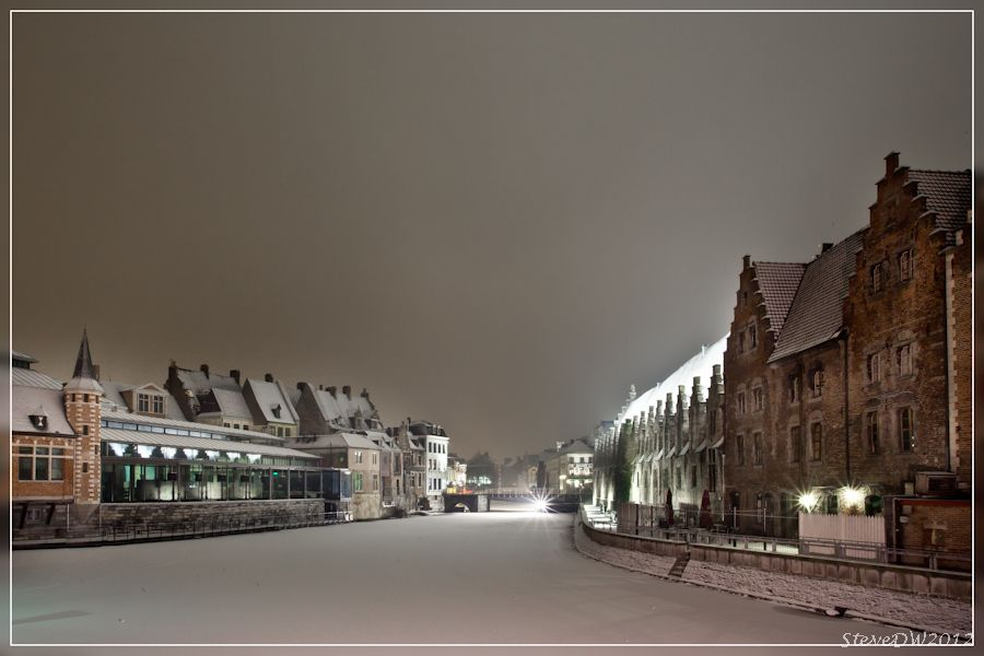 Ghent by night by steve dw on 500px