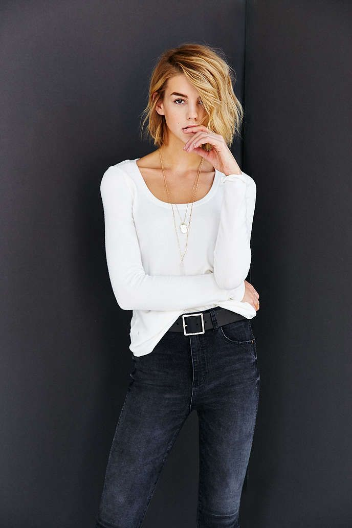 Project Social T Scoop Neck Tee - Urban Outfitters