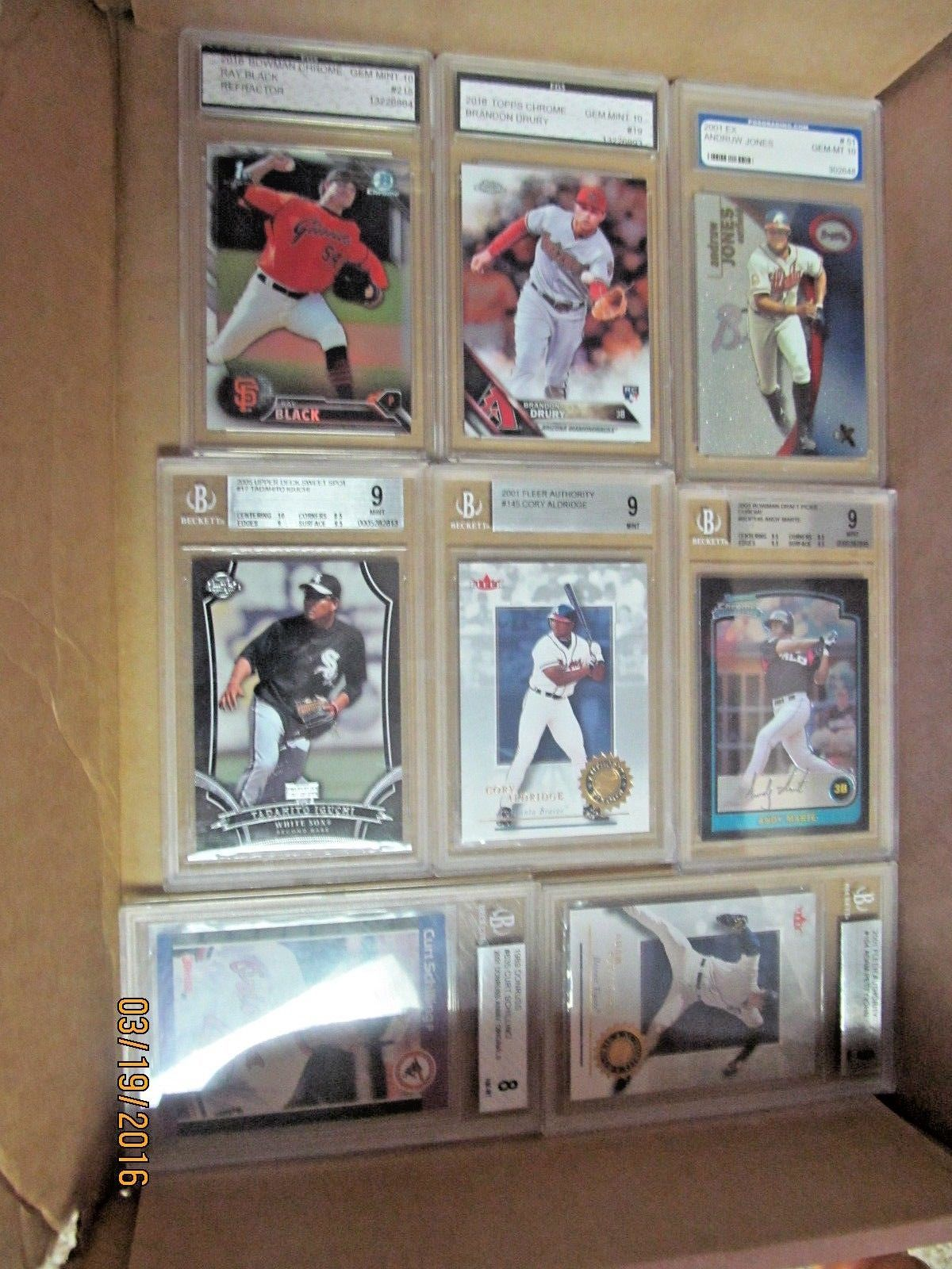 BIG BASEBALL LOT AUTO MEMORABILIA SERIAL NUMBER JERSEY