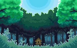 Ilex Forest Pixel Art Pokemon Art Wallpaper