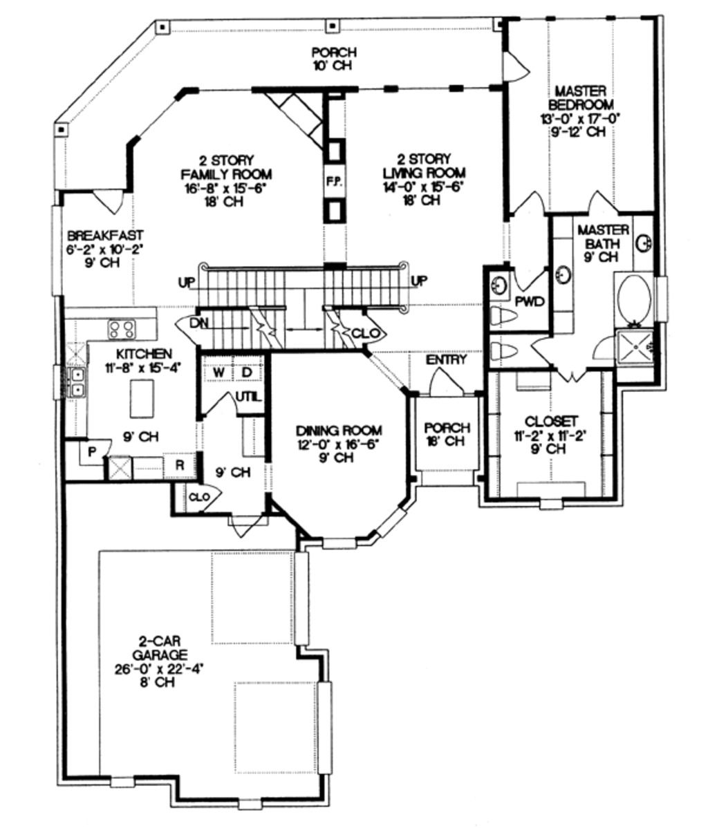 Main Floor Plan | Sketch and plans | Pinterest | Mediterranean ...