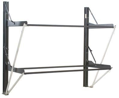 Dual Twin Individual Folding Bunk System Liftco Part# 960012 This Unique Bed  System Allows Either