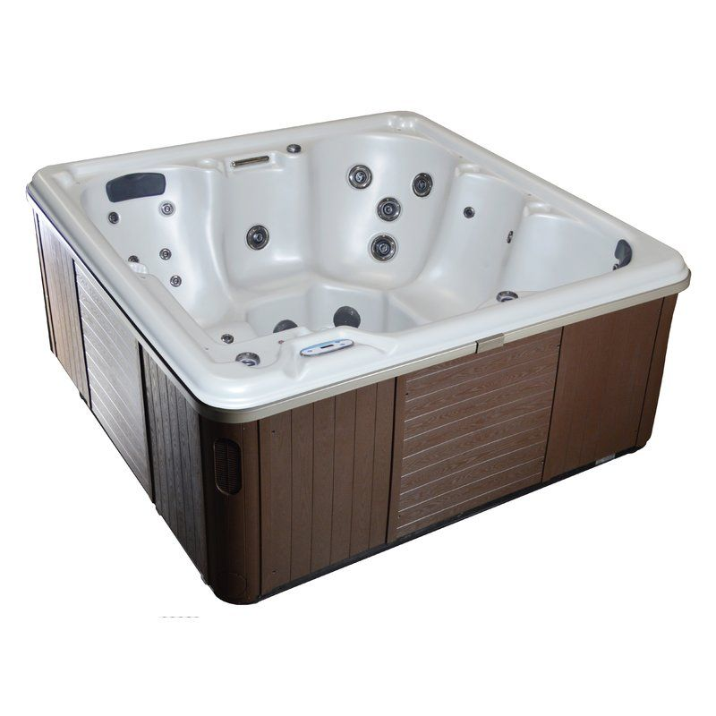 6 Person 31 Jet Hot Tub With Dual Pump And Lounger Tubs For Sale Tub Inflatable Hot Tubs