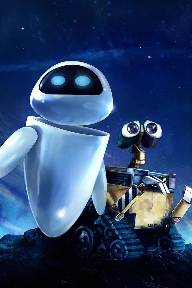 Wall E And Eve Hd Desktop Wallpaper High Definition Mobile