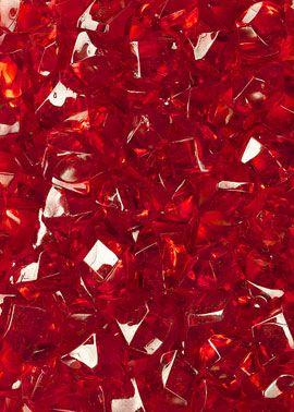 Dark Red Acrylic Sea Glass | Jamali Floral U0026 Garden Supplies