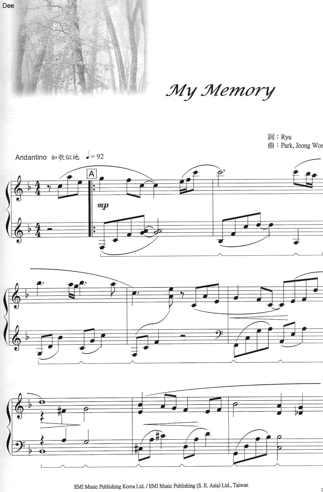 Best Songs About Memories List