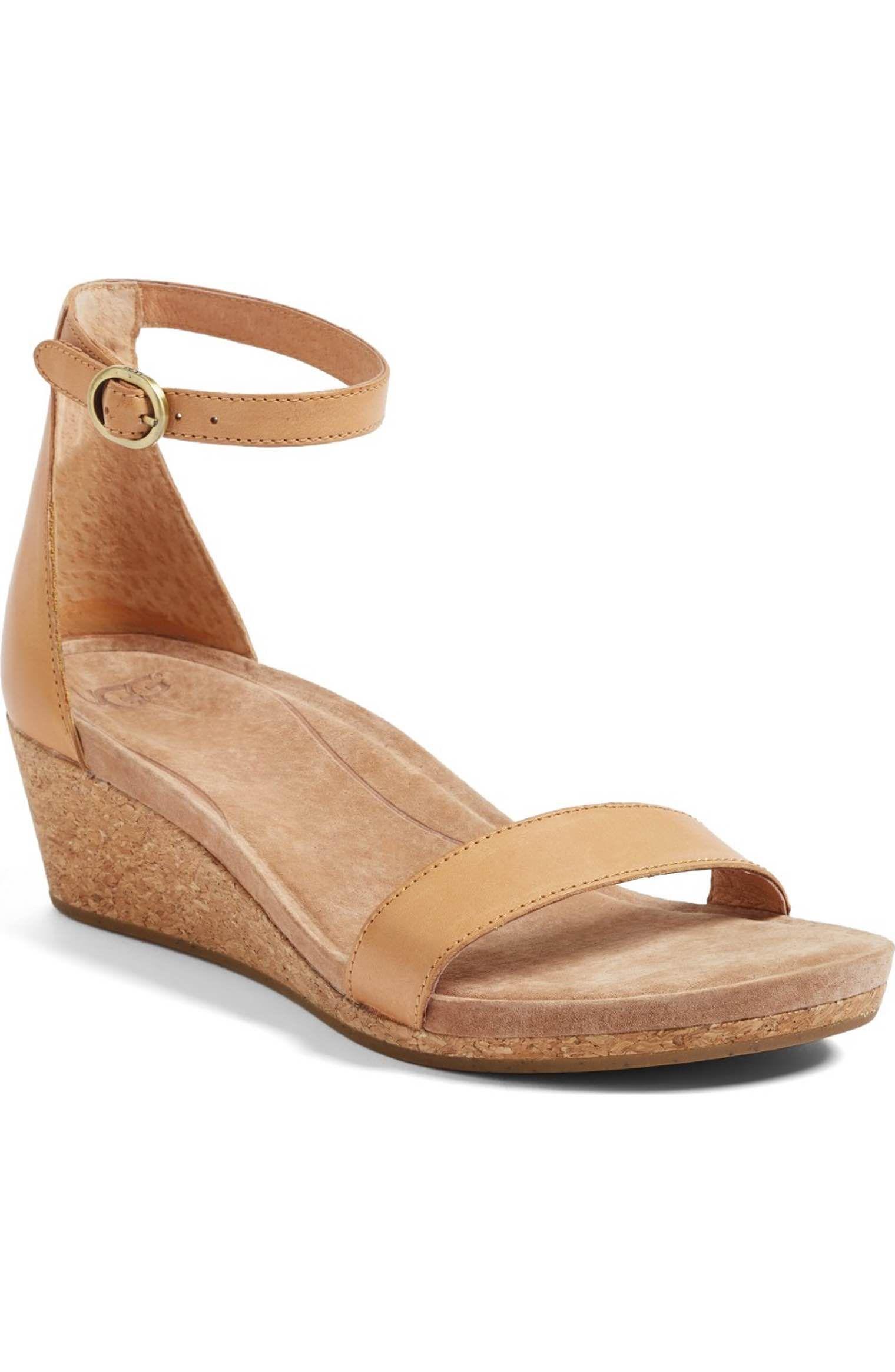 889d98fab74 Main Image - UGG® Emilia Wedge Sandal (Women)
