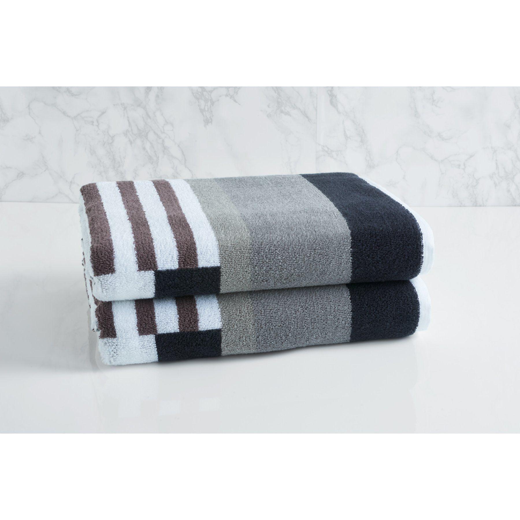 Loft By Loftex Trestle Cotton Bath Towel 3331 B3056 Grayopti