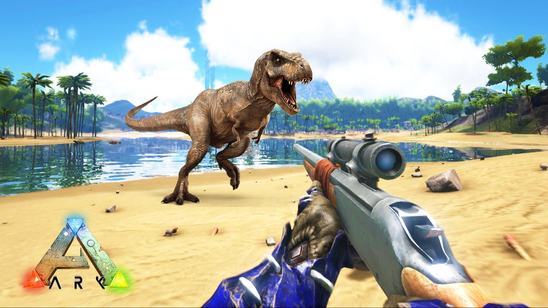 Ark survival evolved sniper rifle hunting dinosaurs ark ark survival evolved sniper rifle hunting dinosaurs ark survival e malvernweather Gallery