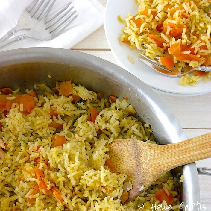 The Best Organic Rice Pilaf Recipe That I Have Ever Made! - Whole Lifestyle Nutrition   Organic Recipes   Holistic Recipes