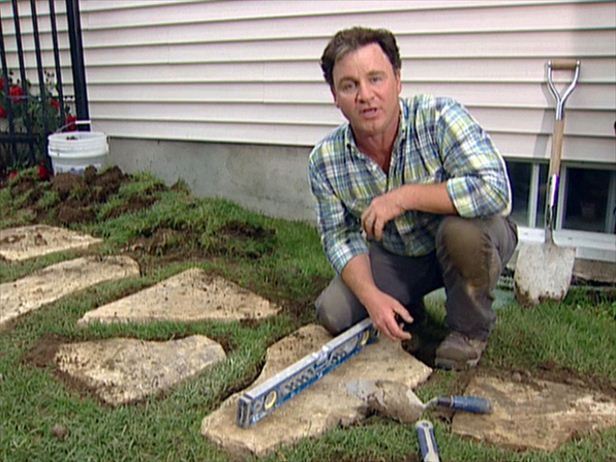 Building a Stone Walkway