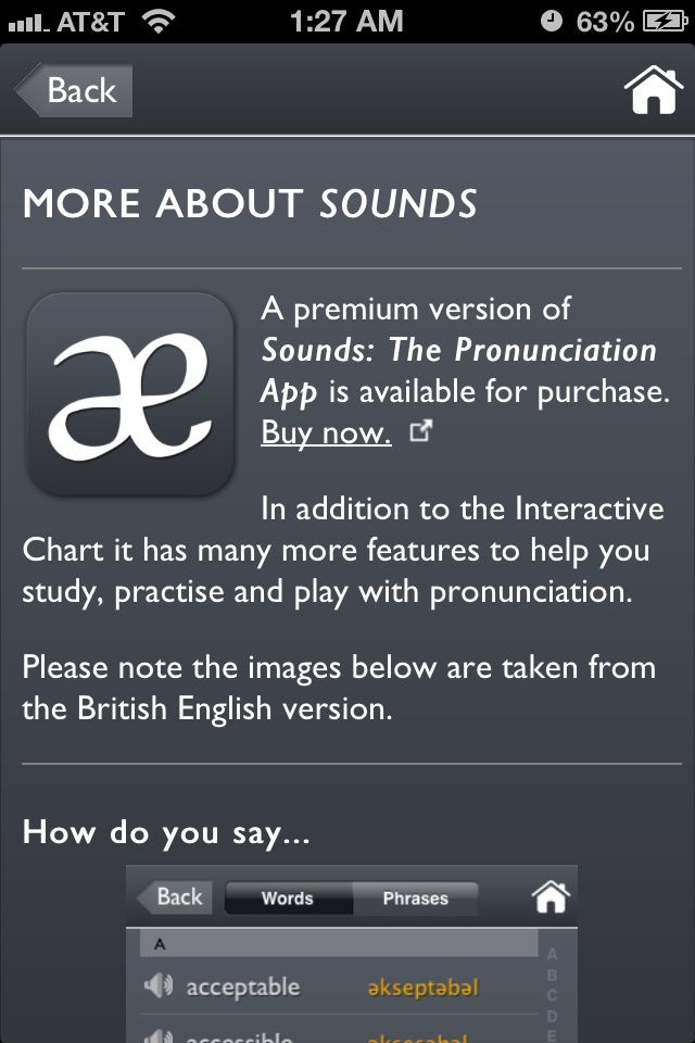 android apps Interactive charts, Language therapy,