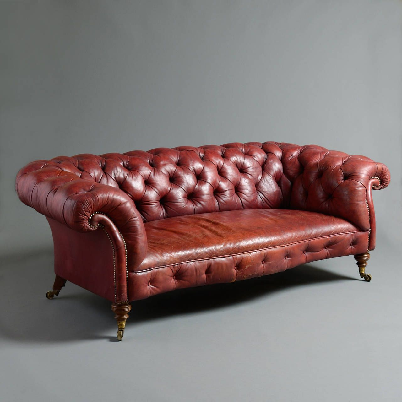 Howard leather sofa 2 red leather sofa oversized chair