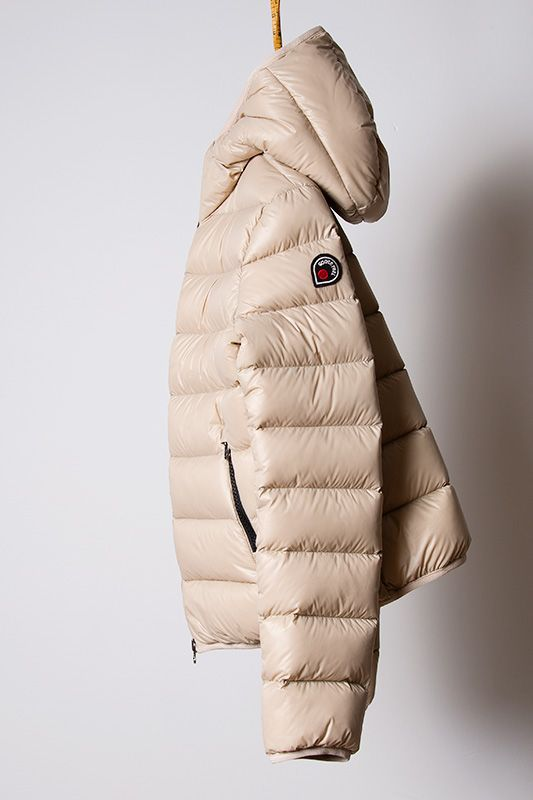 5eb3b6135d4 piumino beige, light down jacket Goose Feel | Oh Those Beautiful ...