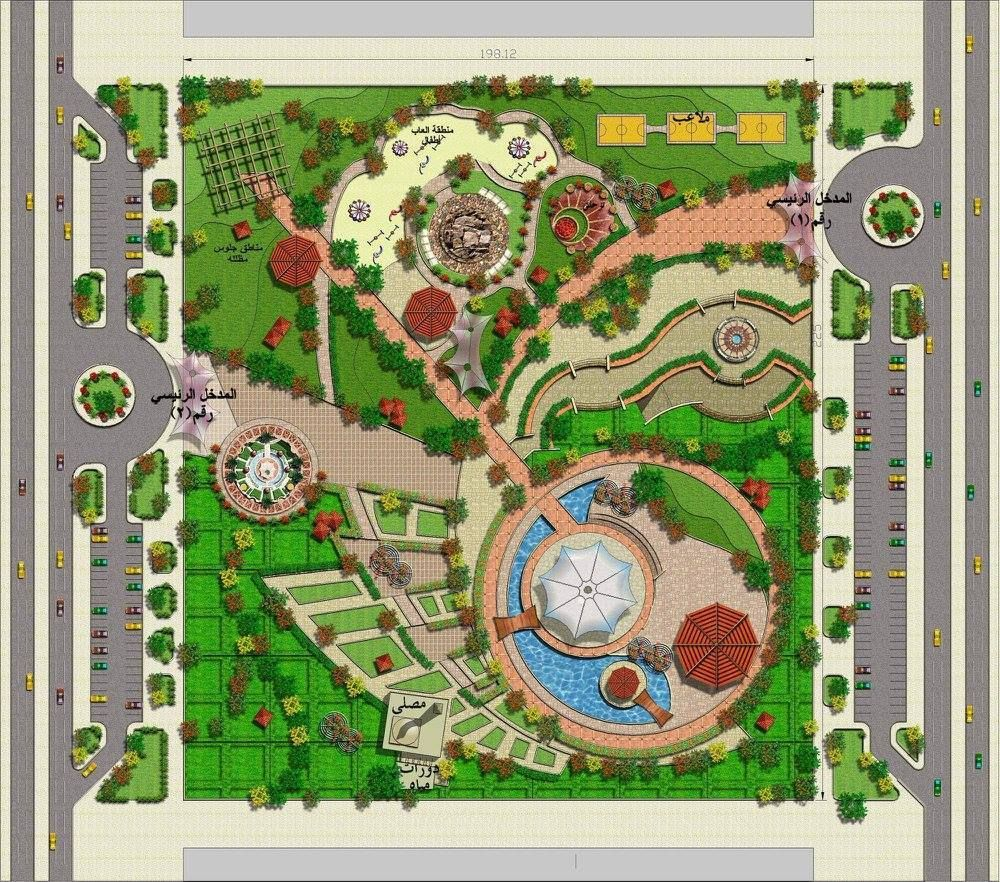 Pin by long ngo ngoc on masterplan landscape pinterest for Planning a new garden design