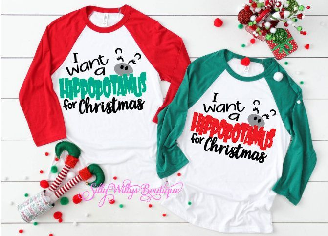 I want a Hippopotamus for Christmas shirt, Funny Christmas shirt, Matching family shirts, Family shirts, Christmas shirt #1weihnachtstaglustig I want a Hippopotamus for Christmas shirt, Funny Christmas shirt, Matching family shirts, Family shirts, Christmas shirt #1weihnachtstaglustig