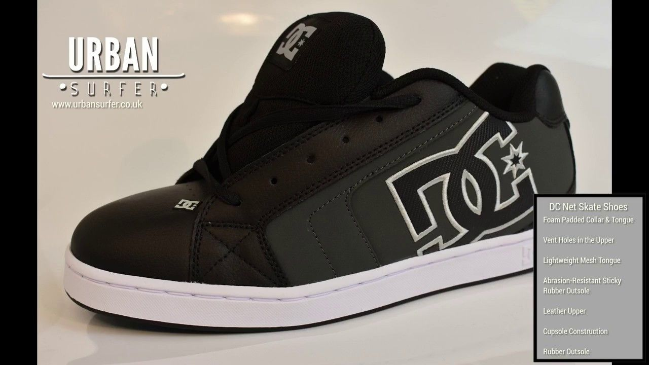 DC Net Skate Shoes: Product Review