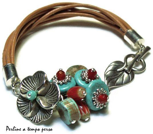 Bracelet ideas Pinterest Pulseras, Brazalete y Joyerías