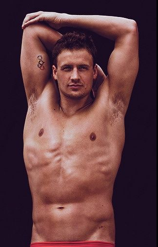 Ryan Lochte. i would live in a pool with him.