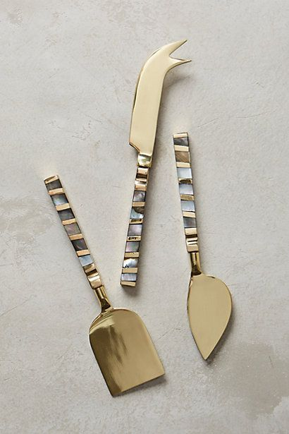 Mother Of Pearl Cheese Knife Anthropologie