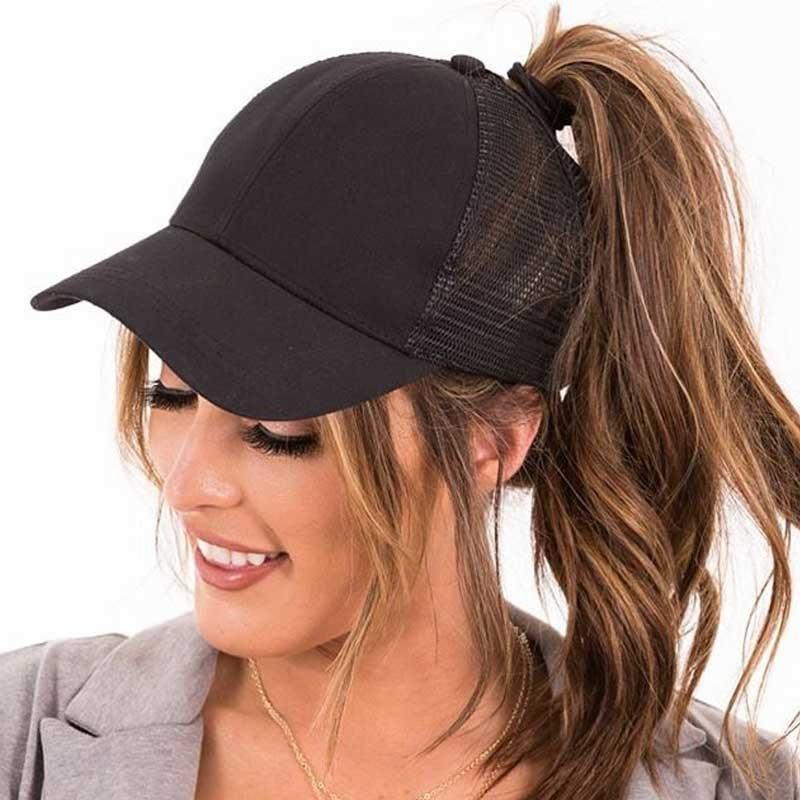Bestgift Womens Mens Solid Colour Cotton Fashion Sports Hat Ajustable Sun Visors