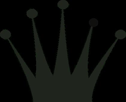 Artsybee Pixabay 11 Crown Silhouette Clip Art Silhouette