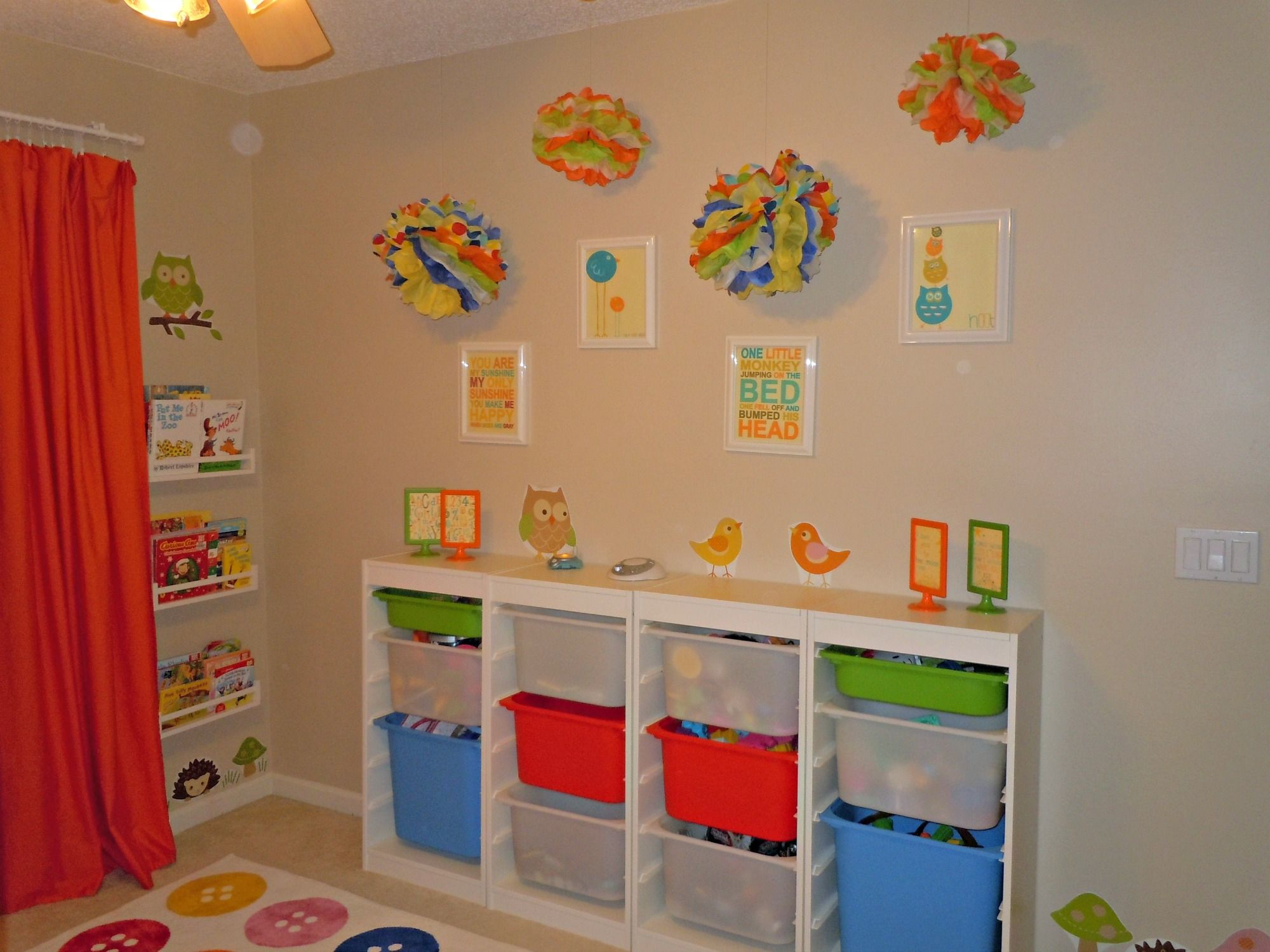Tips For Organizing Kid s Toys kids playroom ideas