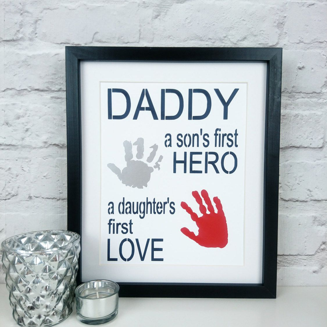 Personalised Papercut Handprint Art