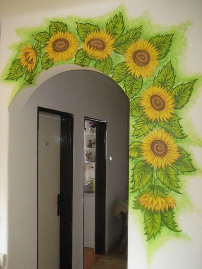 Slnečnice Buková #sunflowerbedroomideas