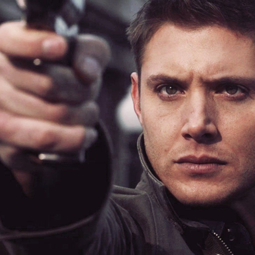 Dean Winchester-- I would love to exorcise the demons out of him....