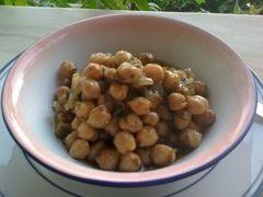 Recette de Pois chiches de Sifnos cuits lentement au four
