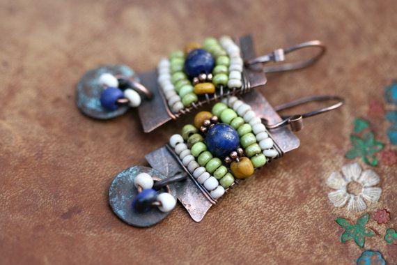 Rustic Signature earrings AlegriaAlegria Series n160 by Tribalis