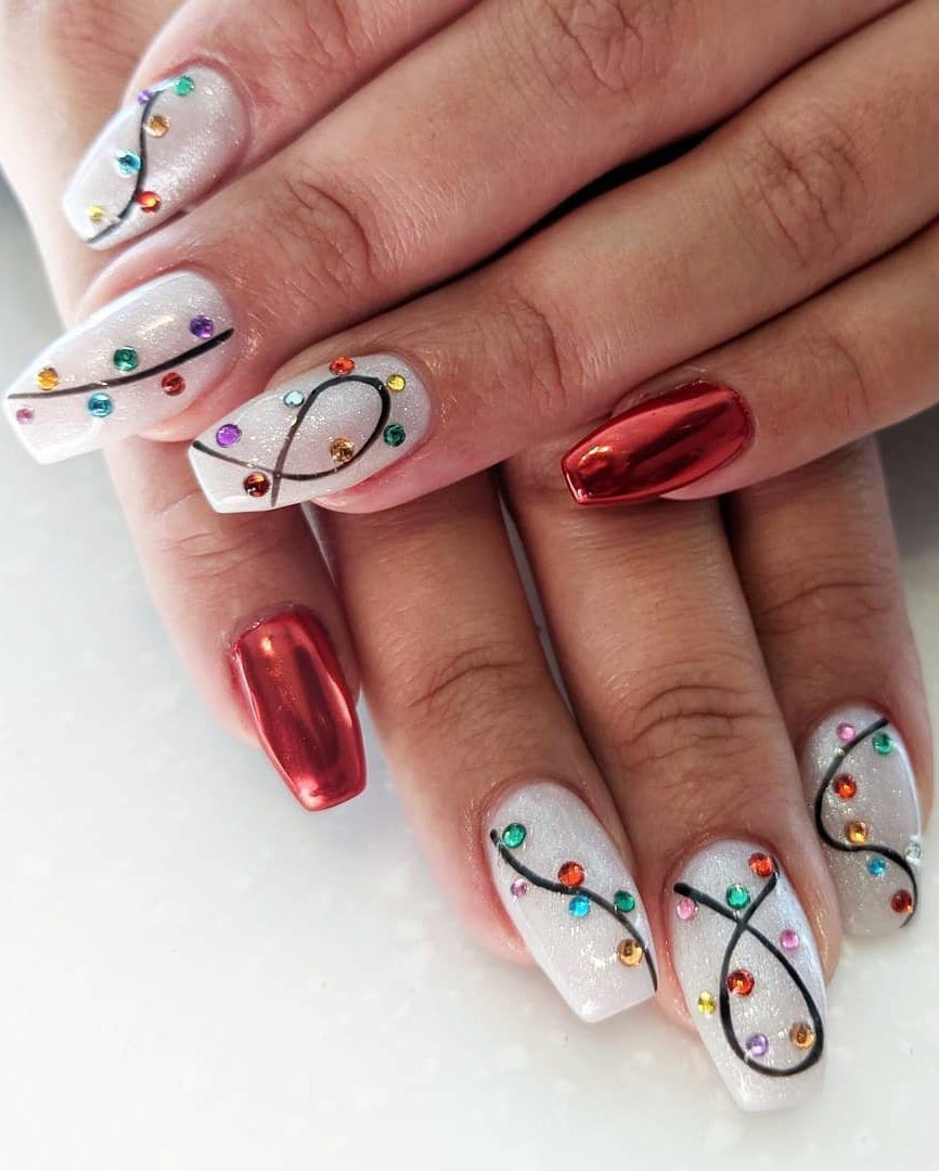 20+ Best Christmas Nail Designs We Have Compiled F