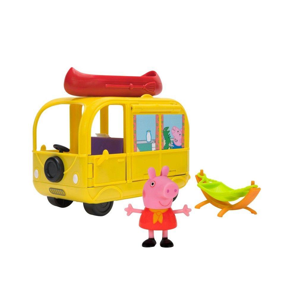 Peppa Pig Medium Playset Campervan In 2021 Peppa Pig Toys Peppa Pig Toys [ 1000 x 1000 Pixel ]